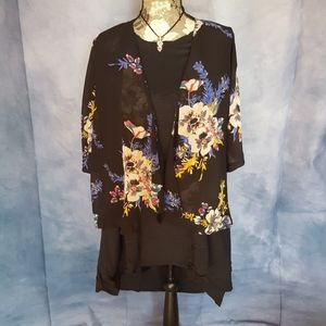 Print Kimono from Forever 21, Size Small